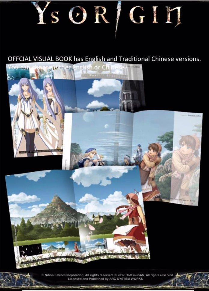 YS Origin - Artbook Asia
