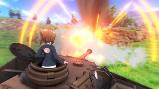 Girls und Panzer Dream Tank Match - sur PS4 en anglais !