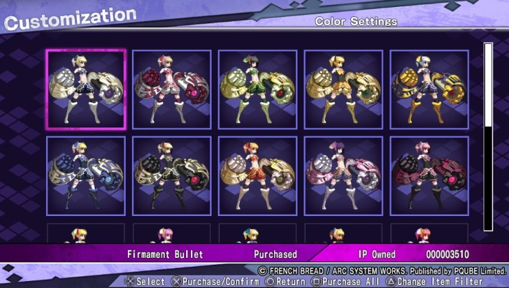 Couleur 01 UNDER NIGHT IN-BIRTH Exe:Late[st]
