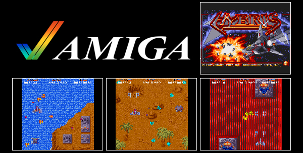 Pixelated Audio - Video Game Music podcast and Retro Gaming Battle Squadron & Hybris on the Amiga
