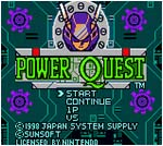 Pixelated Audio - Video Game Music and Retro Gaming podcast - box art - powerquest