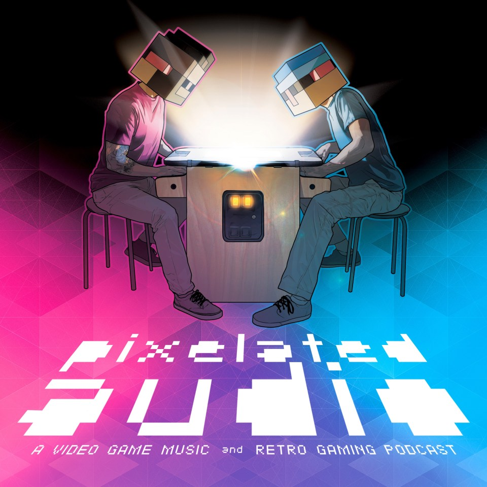 Pixelated Audio - Video Game Music podcast and Retro Gaming 2016 Artwork