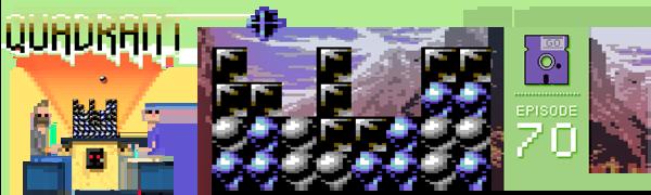 Pixelated Audio - Video Game Music podcast and Retro Gaming Quadrant C64 Game On Thomas Detert
