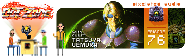 Pixelated Audio - Video Game Music podcast and Retro Gaming Tatsuya Uemura