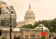 A Rainy Washington DC
