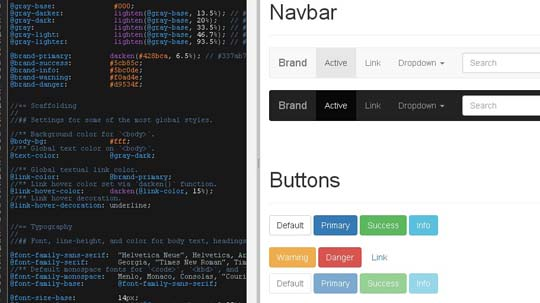 2.bootstrap ui editor