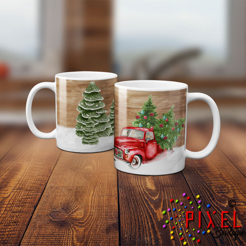 Red-truck-2-Mugs-Stacked