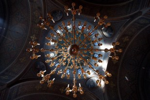 Orthodox Cathedral Chandelier, Helsinki
