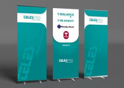 Telespro Tradeshow Rollups
