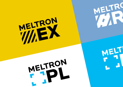 Meltron Product Line Logos