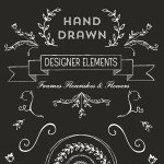 Hand Drawn Logo Design Elements