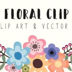 Floral Clip Art with Vector Download
