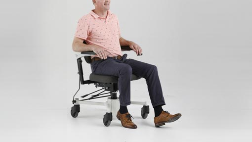 Background Removal Man sitting on chair
