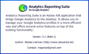 Sobre Analytics Reporting Suite