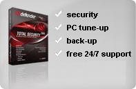 Caja de antivirus Bitdefender