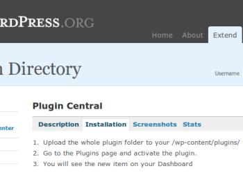 Wordpress Plugin Central - administrar fácilmente los plugins isntalados en tu Worpdress