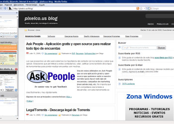 Tab Sidebar - captura de pantalla