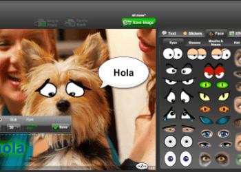 piZap - Editor en linea de fotos