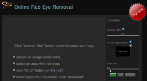 Fix Red Eye Removal