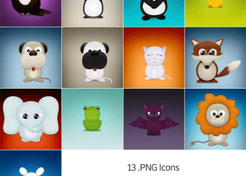 Cute Critters - Icon Pack | Sample