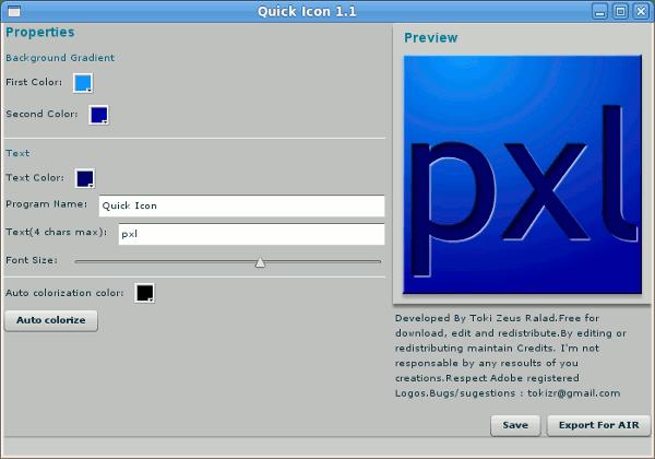 quick-icon-interfaz