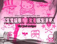 skulls-brushes-avril-lavigne