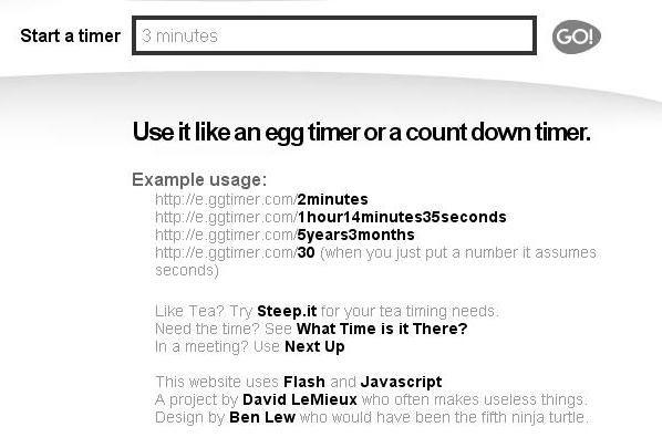 2 Egg Timer cocina tiempo