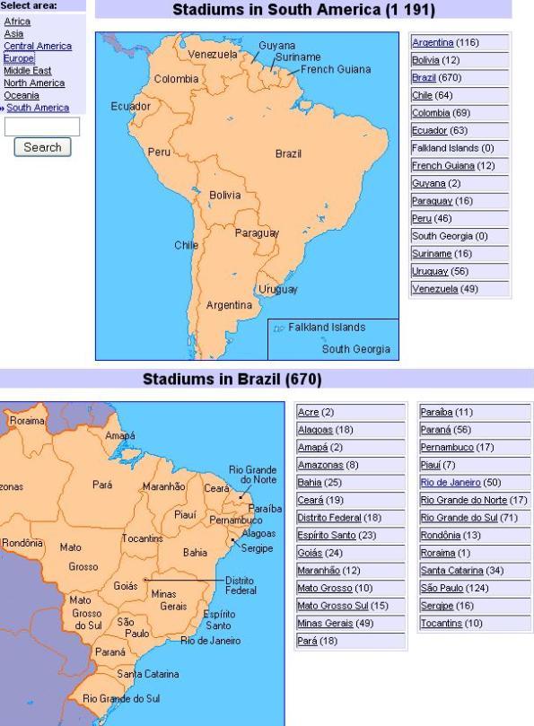 2 World Stadiums