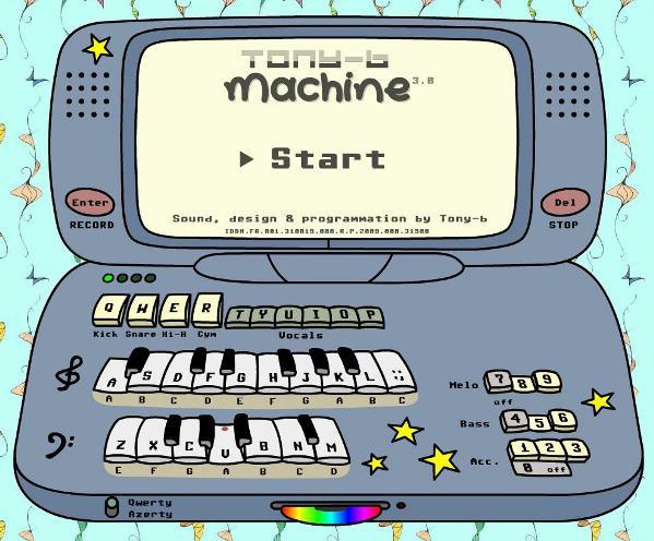 4 Tony b Machine maquina DJ online