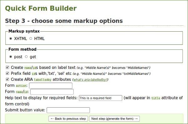 Accessify - Quick Forma Builder