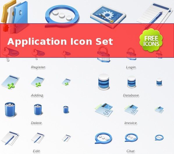 Aplication Icon Set