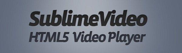 Sublime Video Player – Reproductor de video para HTML 5