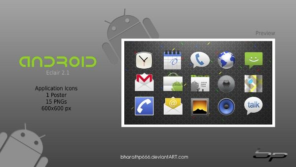 Android Icons Application