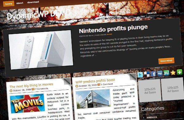 Brick-Wall-Theme-Wordpress