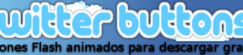 Twitter Buttons - Botones Twitter animados