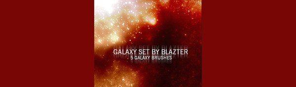 Galaxy - Photoshop brushes
