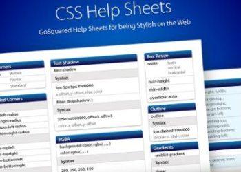 CSS3 Help Sheet