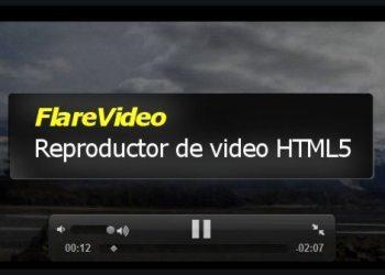 FlareVideo - Reproductor de video HTML5