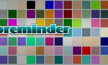 Coloreminder - Herramienta web para trabajar con colores
