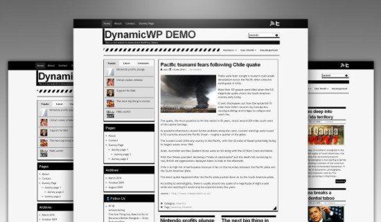 Simple White free WordPress theme