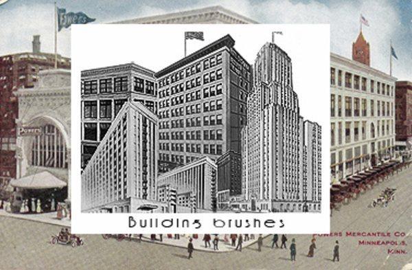 Building-Photoshop-brushes