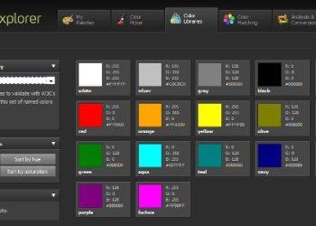ColorExplorer - herramienta online para trabajar con colores