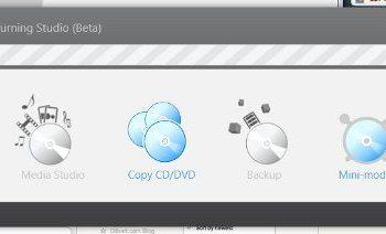 Hamster interfaz - aplicacion gratis para Windows para quemar todo tipo de discos