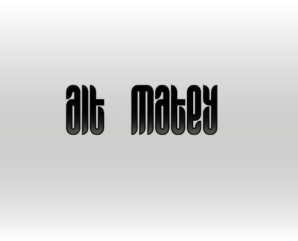 Alt Matey - free font