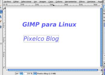 GIMP editor de imágenes