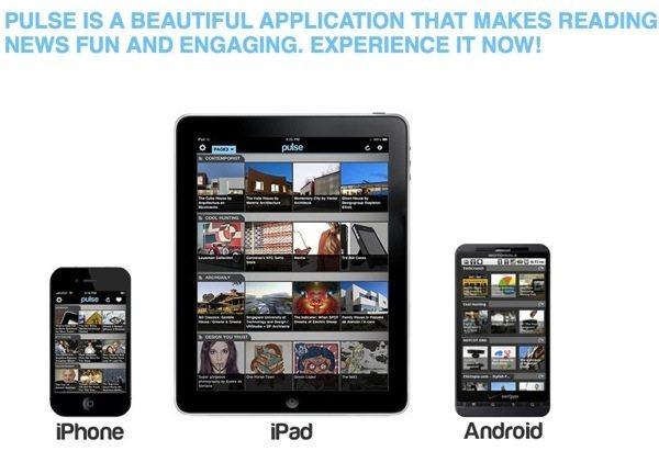 Pulse lector de noticias para Android, iPhone y iPad