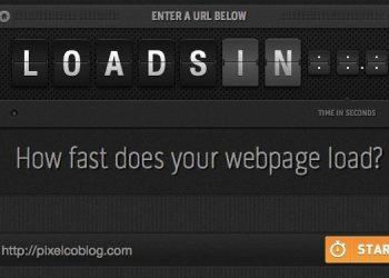 Loads.in - herramienta online para medir el tiempo de carga de un website