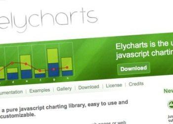 Elycharts - Biblioteca jQuery/Javascript para graficar datos