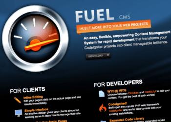 Fuel CMS - CodeIginiter