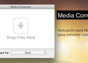 Media Converter, aplicacion gratuita para Mac OS X para convertir videos